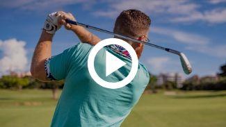 coordina el cuerpo golf