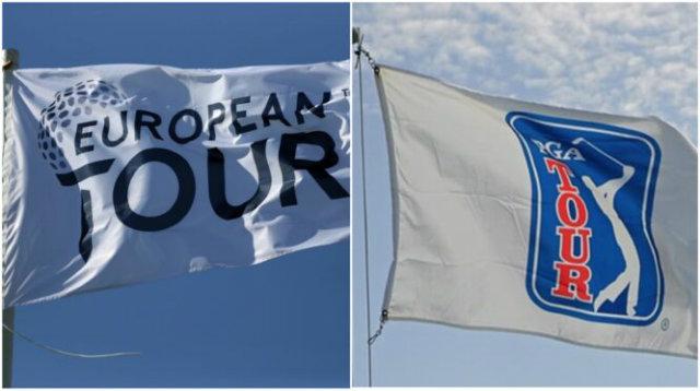 banderas pga tour european tour